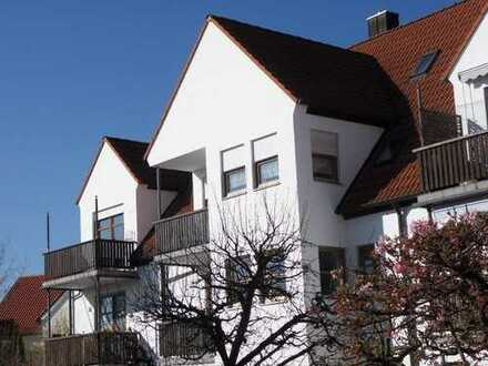 Attraktive Eigentumswohnung mit herrlichem Blick ins Grüne