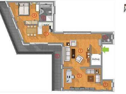 Smart-Penthouse 3.0... und der Lift kommt in die Wohnung