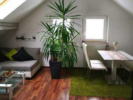 **PROVISIONSFREI** Moderne 2-Zi. DG-Wohnung in toller Aussichtslage, ruhig, Innenstadt-/ & naturnah