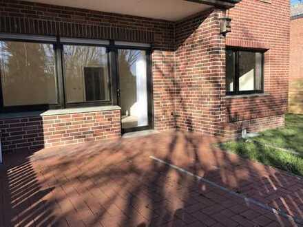 4-Zimmer-EG-Wohnung mit Terrasse, Garten und Einbauküche in Steyerberg