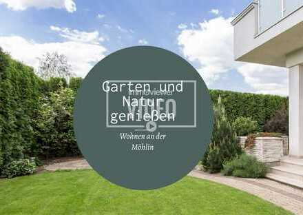 Bad Krozingen- Hausen am Ufer der Möhlin. Exklusive Neubau 2-Zimmer Eigentumswohnungen mit Garten