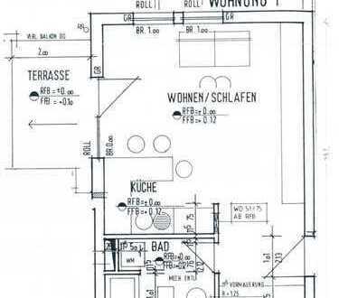 Schönes 1-Zimmer-Appartment mit Blick ins Grüne in Plüderhausen