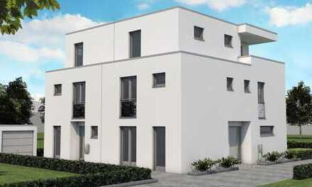 Rodenkirchen, zeitlose Architektur, Neubau von zwei Doppelhaushälften