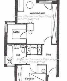 **Wohnen in Reinsdorf** 2-Raum Wohnung mit Terrasse und Tiefgaragenstellplatz**
