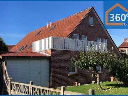 Schöne Doppelhaushälfte mit zwei separaten Wohneinheiten in zentraler Lage