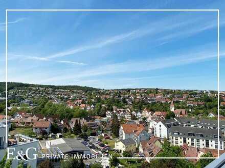 Großzügige 4,5-Zi.-Penthouse-Wohnung mit herrlicher Terrasse und Weitblick in Stuttgart-Botnang