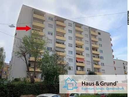 ***Kapitalanlage oder Eigennutzung: Helle 2-Zi.-Whg. mit Loggia im Stuttgarter Westen***