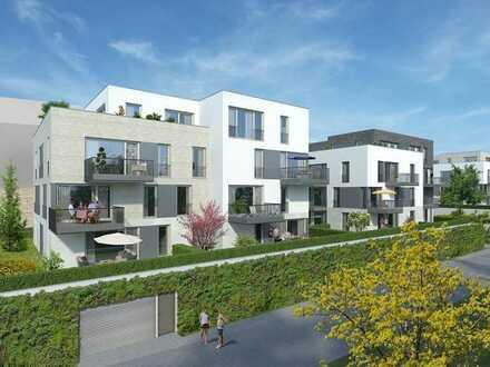 Neubau! Jetzt besichtigen, Ausstattung wählen und demnächst einziehen! Großzügige 4-Zi.-Wohnung A6