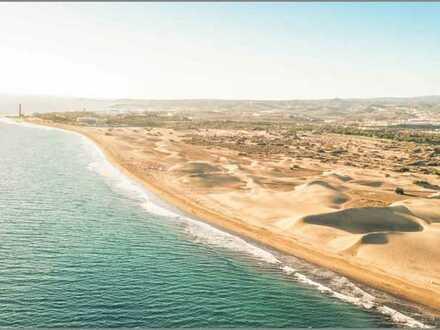 Gran Canaria Bungalow-Anlage in Toplage mit 25 großen Wohneinheiten, Pool, Bar und Restaurant