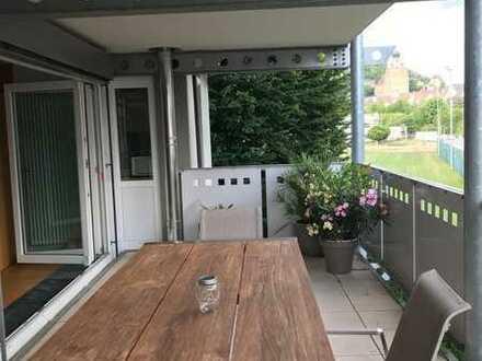 4-Zimmer-Wohnung mit Balkon und Gartenmitbenutzung in Herrenberg