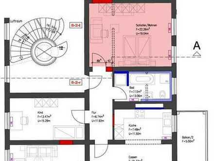 Suche nette/netten Mitbewohner, 4 Zimmer m. Balkon