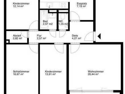 4-Zimmer Wohnung Eigentumswohnung im Grünen in FR-Landwasser