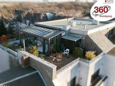 Penthouse – über den Dächern von Nippes! Individuell und einzigartig!