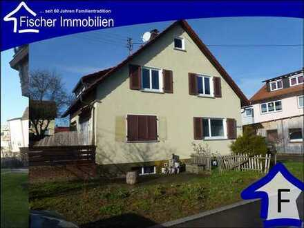 Ellenberg, neu im Angebot freistehendes Ein- bis Zweifamilienhaus mit Garage