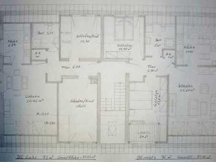 Gemütliche Dachgeschosswohnung mit 3 Zimmern in Selm, Balkon, Keller, Stellplatz