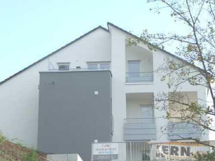 !! Wohnen auf der Sonnenseite !! - Tolle 2 Zi.-Neubau-Wohnung in bester Aussichtslage !!