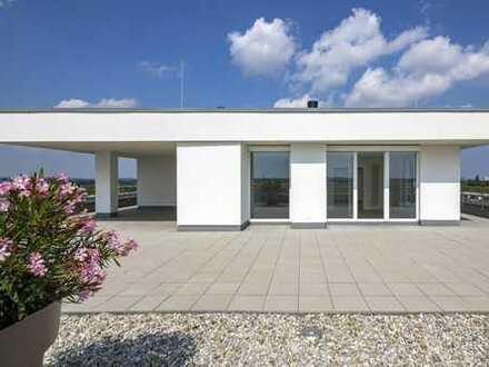cooles Penthouse - 9.OG - mit riesiger Dachterrasse - Oberschleißheim
