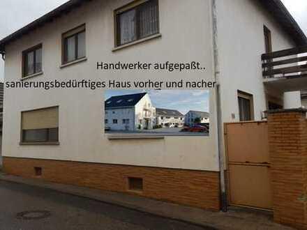 * sanierungsbedürftiges Haus im Herzen von Saulheim*