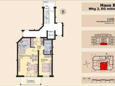 Schöne 2-Zimmer-Gartenwohnung Nähe Westpark