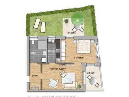 BETREUTES WOHNEN: 2-Zimmerwohnung in der Neuen Ortsmitte