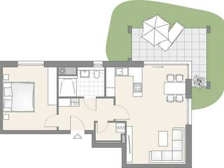 2-Zimmer Wohnung mit eigenem Garten (101)