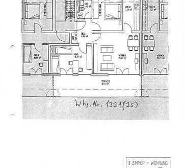 Helle 3-Zimmer-Dachterrasen-Wohnung zur Miete in Puchheim