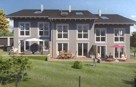 Neubau Reihenhaus MITTE - Dreispänner in ruhiger und zentraler Lage in Murnau am Staffelsee