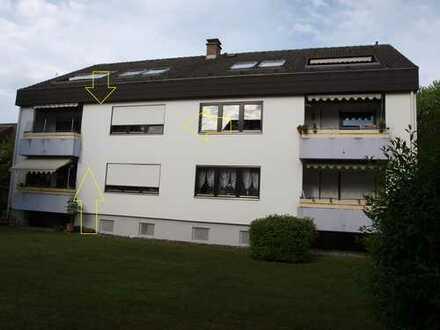 3 Zi. Wohnung - zentrumsnah in ruhiger Wohnlage von Radolfzell