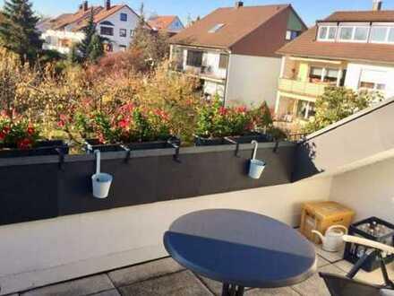Möbliert und gepflegt wohnen über den Dächern von Echterdingen !