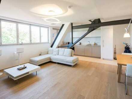 Lifestyle im Palais Langheinrich - Vollmöbliertes Design-Loft mit Lift!