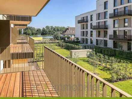 ac | Neubau - Erstbezug - Wohnen am Fluss - 4 Zimmerwohnung