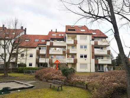 Großzügige 3-Zimmer-Wohnung mit Balkon und EBK in Ulm-Böfingen