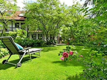 Reiheneckhaus mit wunderschönem Garten in ruhiger Lage von Germering-Unterpfaffenhofen