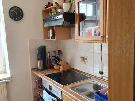 Schöne Obergeschoss-Wohnung mit EBK in Ellefeld zu vermieten!
