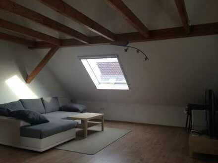 Moderne Dachgeschoss-Wohnung in Dietenheim