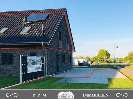 3-Zimmer-Neubauwohnung in qualitätsvollem Doppelhaus Nähe Tarp