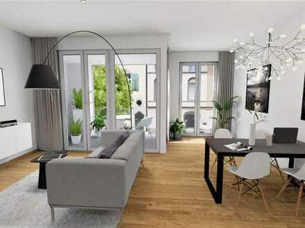 LAUBENHOF - Neubau in schönster Umgebung! 2-Zimmer-Wohnung mit ca. 61 m² und Loggia
