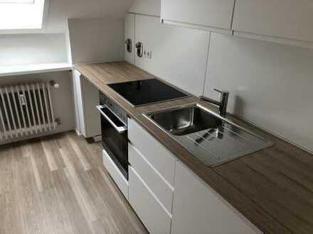 Neubezug nach Renovierung: 2,5 Zi Wohnung in Stuttgart-Riedenberg mit Balkon