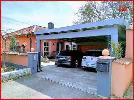 Markantes Architektenhaus im Toscana-Stil in Top-Lage von Schwandorf-Ettmannsdorf - Das Besondere!