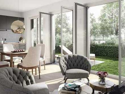 Großer Wohlfühlfaktor: 3-Zimmer-Wohnung im EG mit Terrasse und eigenem großen Garten