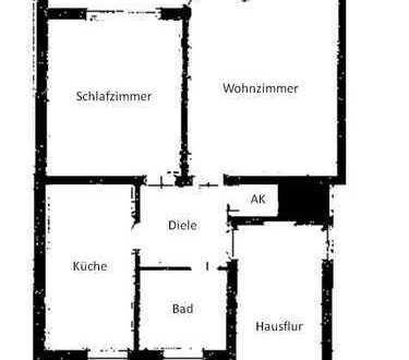 PROVIONSFREI 2-Zi-Wohnung in guter, ruhiger Lage