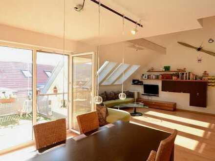 Neuer Preis: Randlage - 3,5-Zimmer-Maisonette - Balkon - TG-Stellplatz