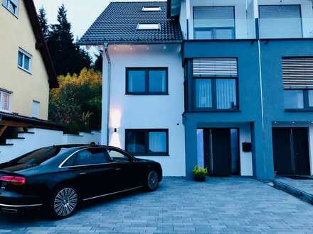 Stilvolle, neuwertige 2-Zimmer-EG-Wohnung mit luxuriöser Innenausstattung in Neuenbürg - NEUBAU!