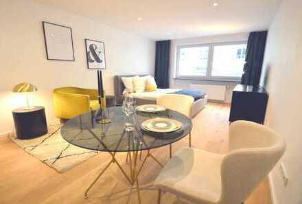 Möbliertes Apartment in Münchener Top-Lage direkt an der Isar in Bogenhausen