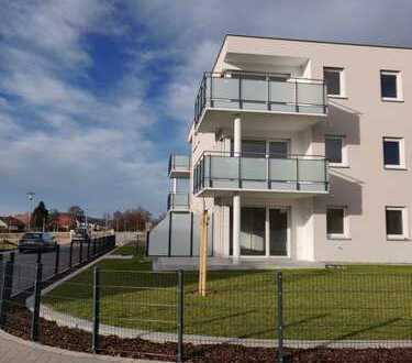 """""""Erstbezug"""" 3-Zimmer-Wohnung im 1.OG mit Balkon in Freystadt"""