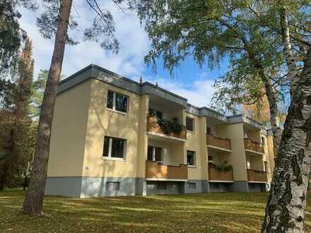 ### ULMANN IMMOBILIEN - ruhig & idyllisch gelegen! 2-Zimmerwohnung mit EBK und Balkon ###