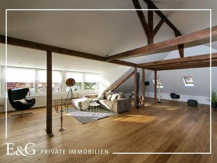 Maisonette-Wohnung mit Loft-Charakter in Stuttgart-Nord