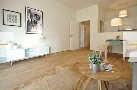 Ansprechende 2-Zimmer-EG-Wohnung mit Balkon und Einbauküche in Bremen (Stadt) - Walle