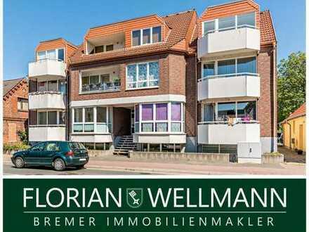 Bremen - Rönnebeck | 1-Zimmer zum Wohnen oder auch als Büro nutzbar!