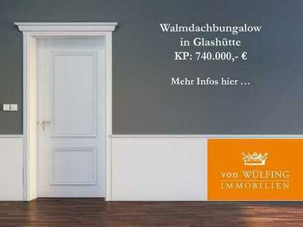 Walmdachbungalow in Glashütte...